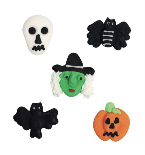 Assorted Halloween Sugar Pipings